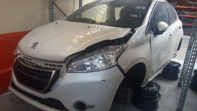 Peças usadas Peugeot 208 2013 2014 1.6 16v 122cv flex câmbio automático - Foto 2