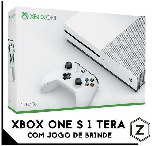 0f9494f11 Xbox One S 1 Tera 1 Tb 4k + Jogo de Brinde - Novo Lacrado - Loja ...