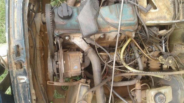 Peças do motor ap e caixa