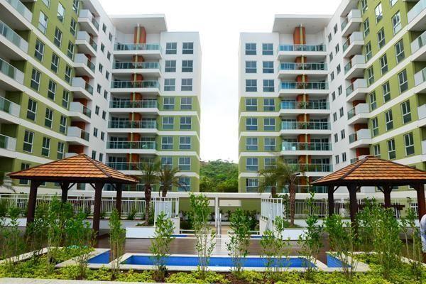 Aloha Home Resort, 1 dorm, 1 vaga, condomínio Club