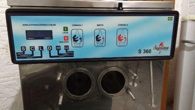Maquina de sorvete expresso tipo italiano usada