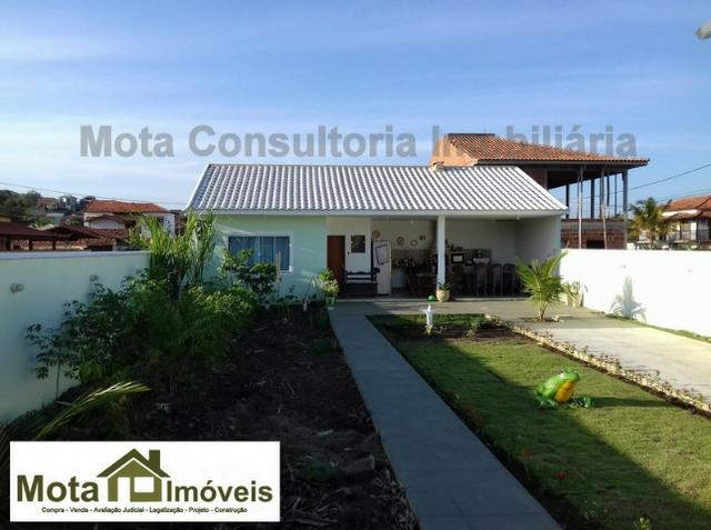 Mota Imóveis - Tem Araruama Casa 1 Suíte com Área de Churrasqueira em Condomínio-CA-303