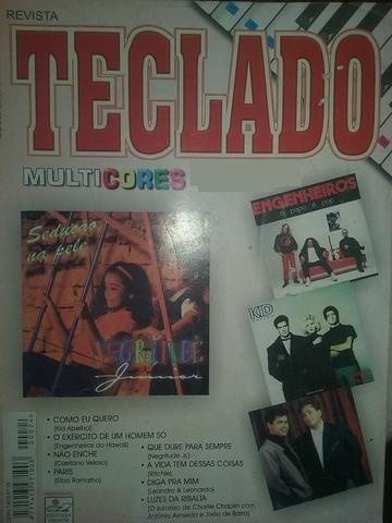 Revista Teclado Multicores