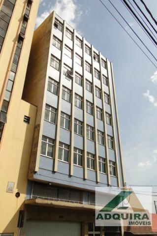 Apartamento  com 3 quartos no Edifício Leila Maria - Bairro Centro em Ponta Grossa