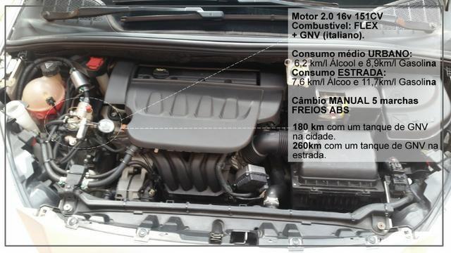 Peugeot 408 Allure 2012 2.0 + GNV e baixo Km. Leia o anúncio! - Foto 8