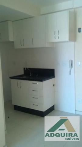 Apartamento  com 1 quarto no Edificio Vernon - Bairro Centro em Ponta Grossa - Foto 3