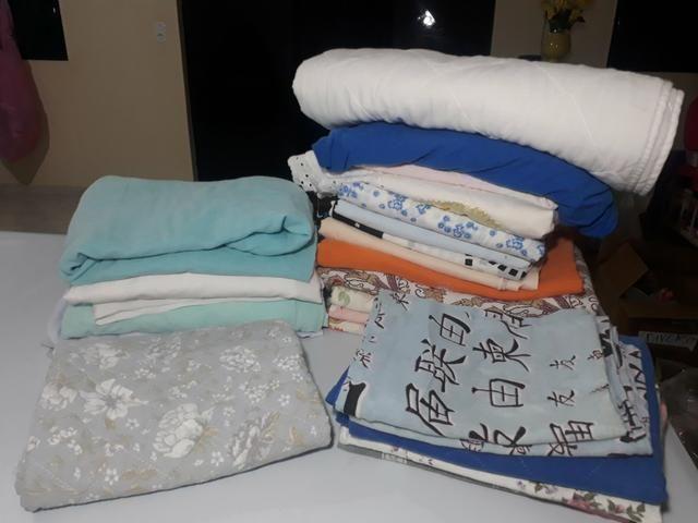 Lote lençóis e fronhas