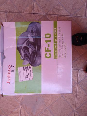 Filtro Jebao Cf10 P/ Lagos Pressurizado C/ Lampada /peixe /estrutura de alumínio