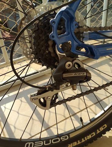 Bicicleta Gonew Endorphine 7.3 Shimano (Novíssima) - Foto 4