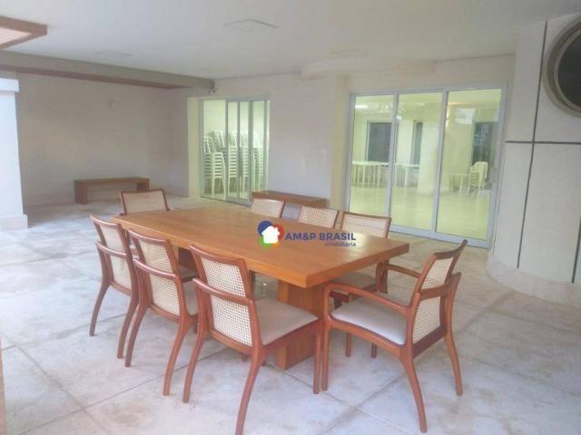 Apartamento com 4 dormitórios à venda, 261 m² por R$ 850.000,00 - Setor Oeste - Goiânia/GO - Foto 3