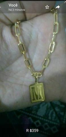 80218296bc1 PRA VENDER LIGEIRO!!! Cordão CARTIER 3-4mm banhado a ouro NOVO ...