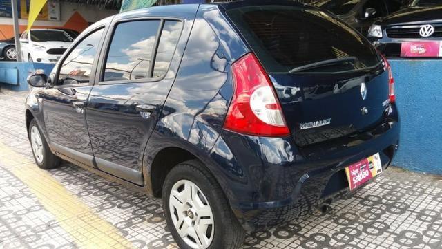 Renault Sandero Privilege 1.6 completa Azul 2009 flex - Foto 4