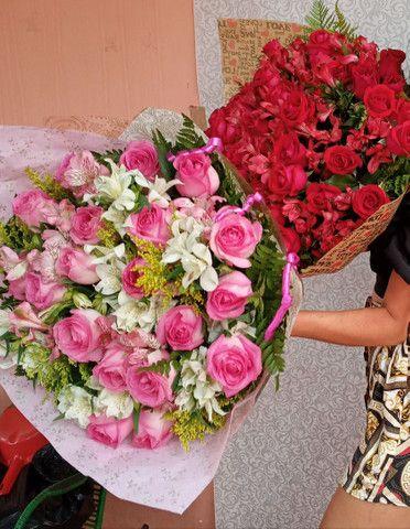 Buque de rosas naturais - Foto 5