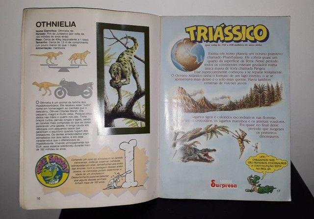 Álbum De Figurinhas Dinossauros Nestlé Surpresa - Completo com 30 figurinhas <br><br> - Foto 6