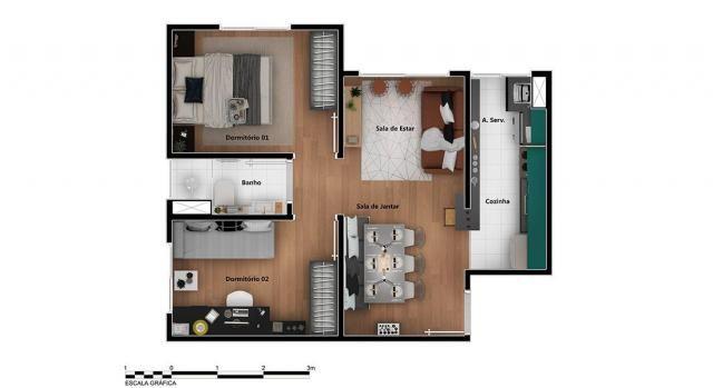 Apartamento para Venda em Rio de Janeiro, Braz de Pina, 2 dormitórios, 1 banheiro, 1 vaga - Foto 14