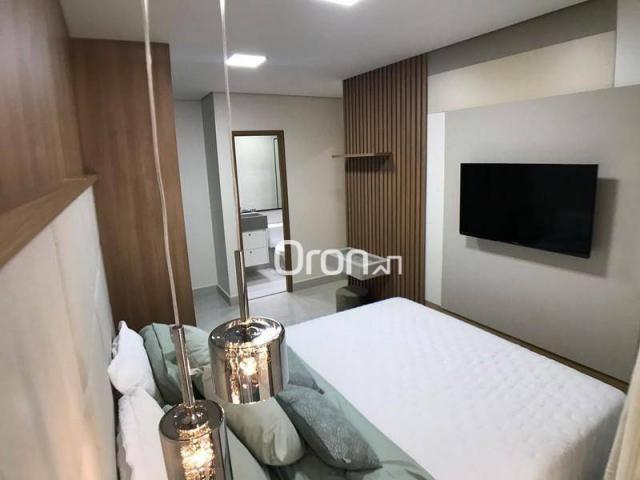 Apartamento com 2 dormitórios à venda, 59 m² por R$ 257.000,00 - Parque Amazônia - Goiânia - Foto 13