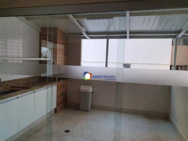 Apartamento com 3 dormitórios à venda, 130 m² por R$ 380.000,00 - Setor Bueno - Goiânia/GO - Foto 8