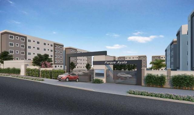 Parque Ayala - Apartamento de 2 dorms em Arapongas, PR - ID4073 - Foto 4