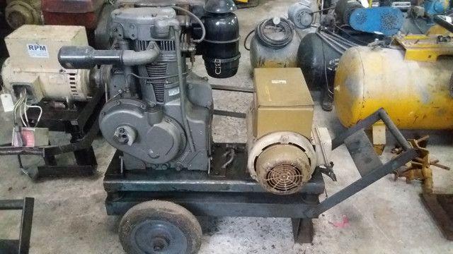 Grupo Gerador 7,5 KVA motor Agrale M90