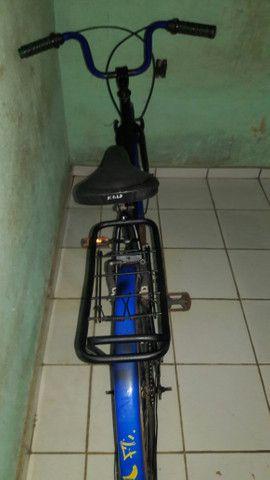 Bicicleta perfeita só com marcas de uso - Foto 3