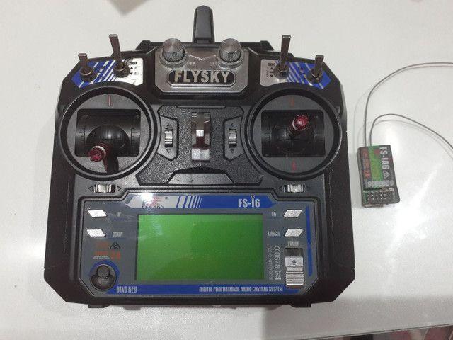 Rádio FlySky i6 - Foto 4
