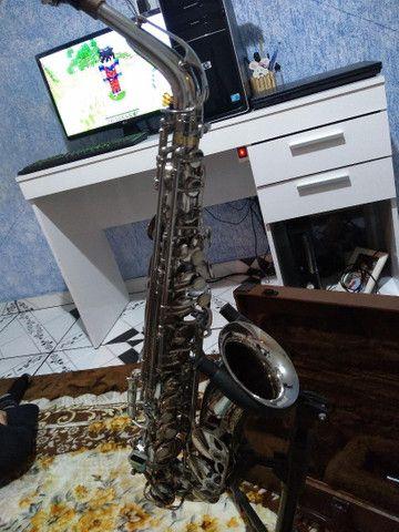 Sax alto weril master lindo original  - Foto 5