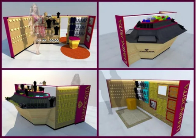 Quiosque De Luxo Para Negócios de Joias e bijouterias - Foto 4