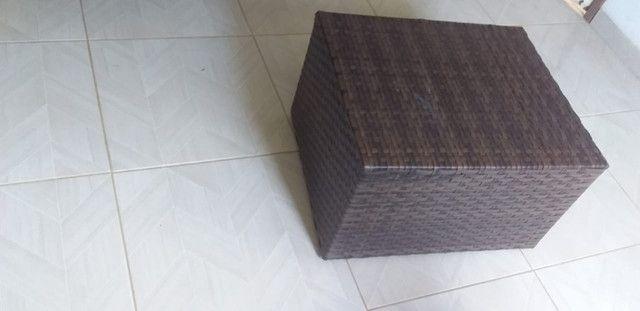 Poltrona Fibra Sintética Varanda Vime Cadeira + Mesa de Centro - Super Promoção!! - Foto 2