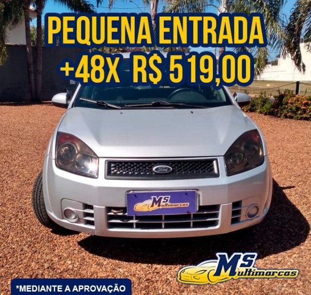 Fiesta 1.0 Flex 4P 2009 Completo - Foto 4