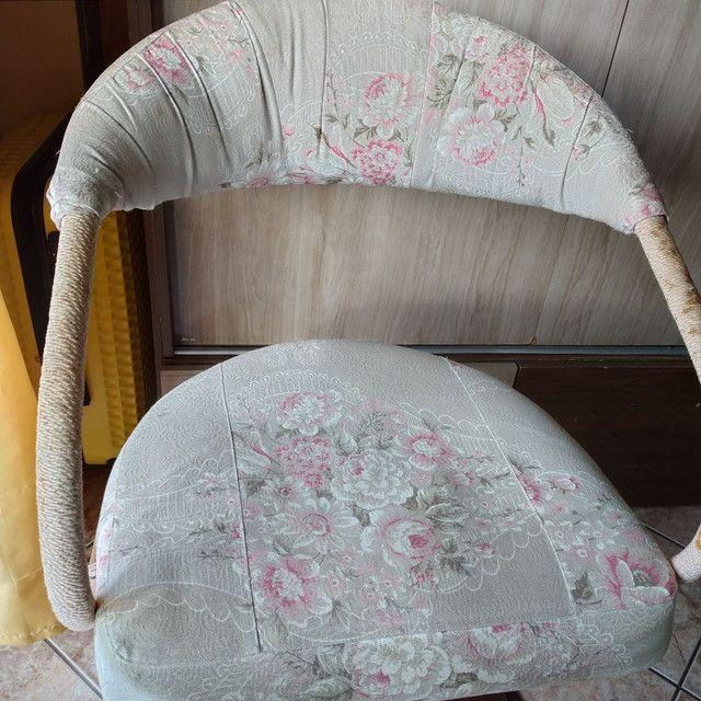 Cadeira hidraulica cabeleireiro - Foto 2