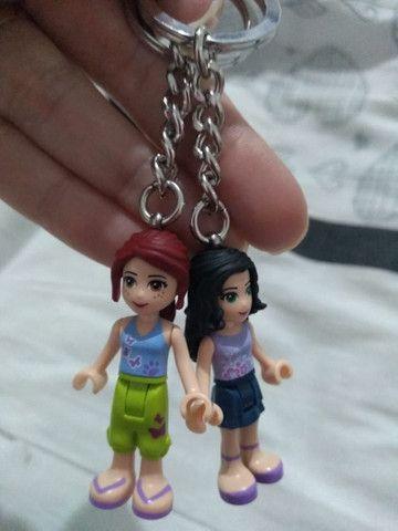Chaveiros lego friends