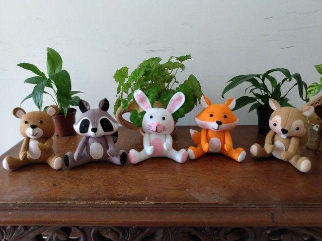 Tema amiguinhos do bosque vc escolhe menino ou menina a sua preferência  - Foto 3