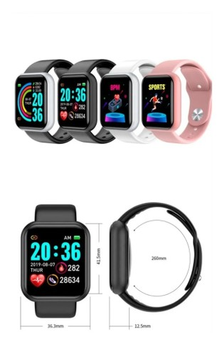 Relógio Inteligente Smartwatch D20 Bluetooth - Android E Ios - Foto 4
