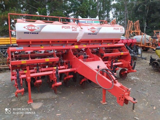 Plantadeira 9 linhas khun PDM PG900  2011 - Foto 4