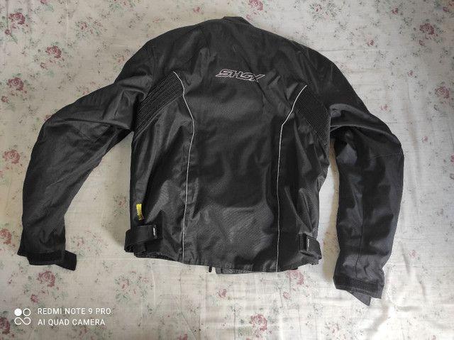 Casaco motociclista Shox Proteção tamanho G. Usado duas vezes apenas. - Foto 3