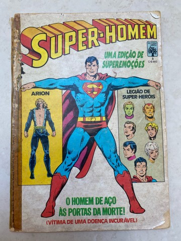Raridades: Quadro Revista n1 Superman + Combo revistas históricas - Foto 2