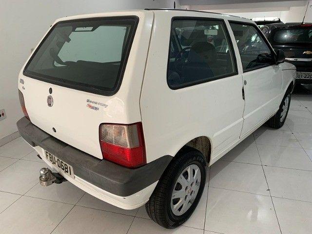 Fiat Uno 1.0 Mille Economy Único dono 2013 Branca  - Foto 7