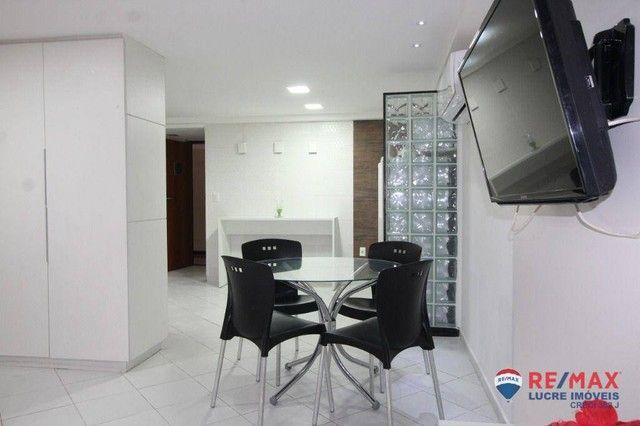 Apartamento com 1 dormitório à venda, 66 m² por R$ 310.000,00 - Cabo Branco - João Pessoa/ - Foto 14