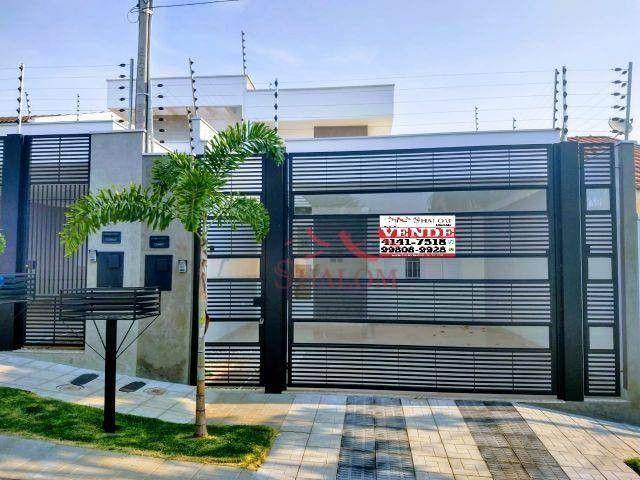 Casa com 3 dormitórios à venda, 105 m² por R$ 530.000,00 - Parque da Gávea - Maringá/PR