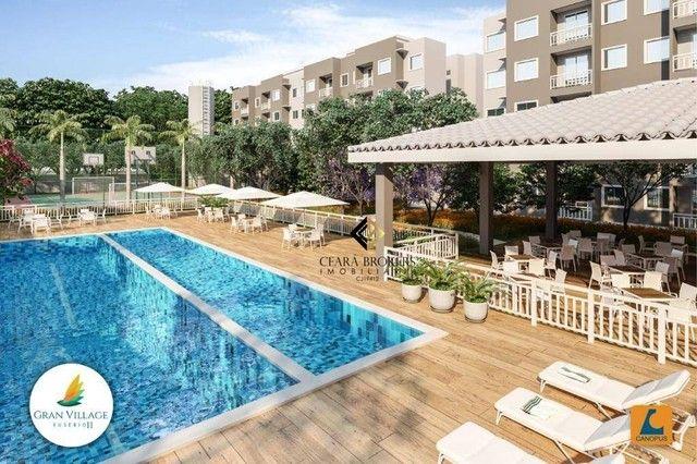 Apartamento no Eusébio com 2 dormitórios à venda, 49 m² por R$ 169.735 - Eusébio - Eusébio