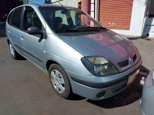 Renault Scenic Authentic Completo 1.6 Flex 4 Portas Prata 2005 - Foto 2