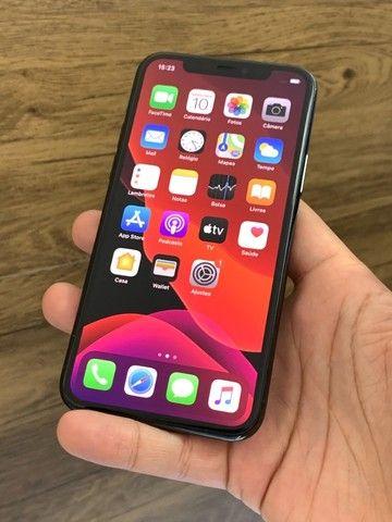 iPhone 11 Pro Max 64GB Verde Green - Até 18x no cartão! Semi novo, perfeito 64 GB - Foto 2