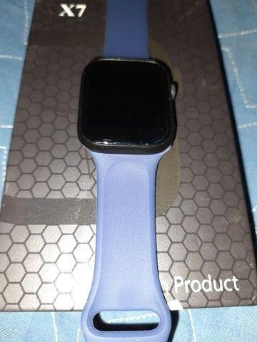 SmartWatch Iwo 14 X7 Atende ligação Entrego  - Foto 3