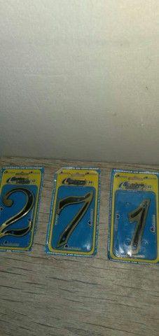 Vendo números de metal  - Foto 3