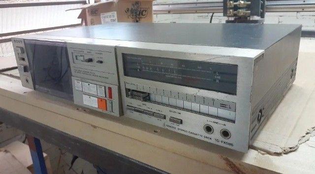 Tape Deck Sony TC FX5BS - Usado