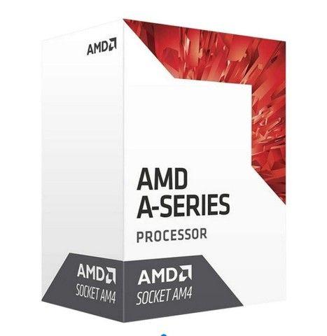 Processador AMD A6-9500E Qual Core 3.0GHz AM4 1MB<br><br>5x no cartão