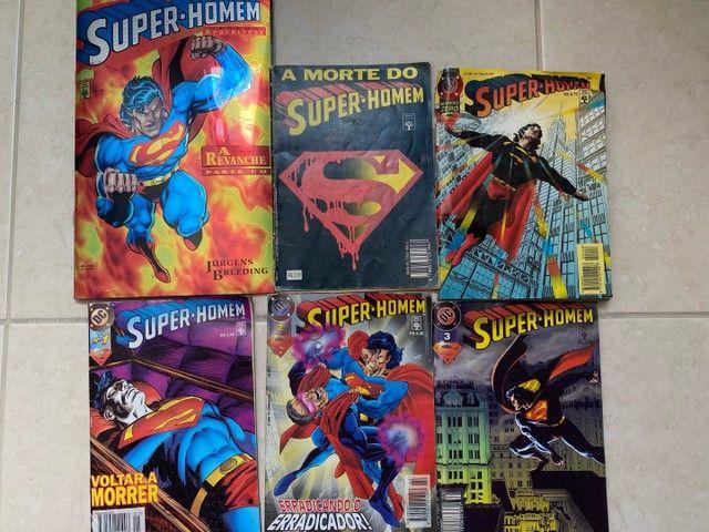 Raridades: Quadro Revista n1 Superman + Combo revistas históricas - Foto 3