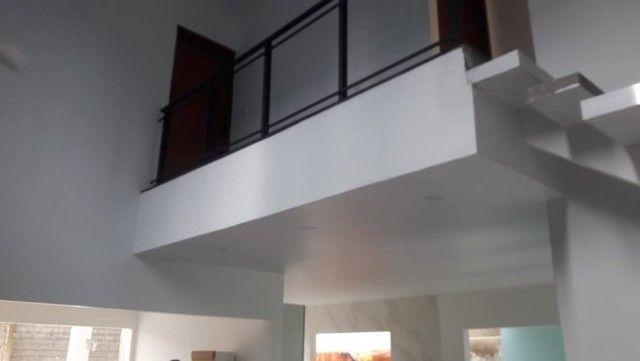 Casa Dúplex em obra com Piscina no Condomínio Jardins da Serra - Foto 4