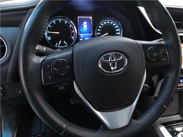 Toyota Corolla Xrs 2018, 53 mil km rodados, único dono, pronta entrega. - Foto 10