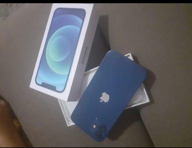 iPhone 12 Normal 64 giga saúde da bateria 100 - Foto 3